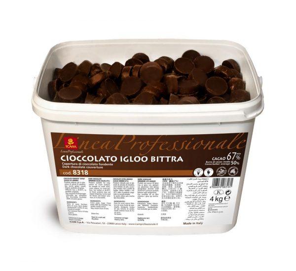 Σοκολάτα υγείας Igloo Bittra 67%