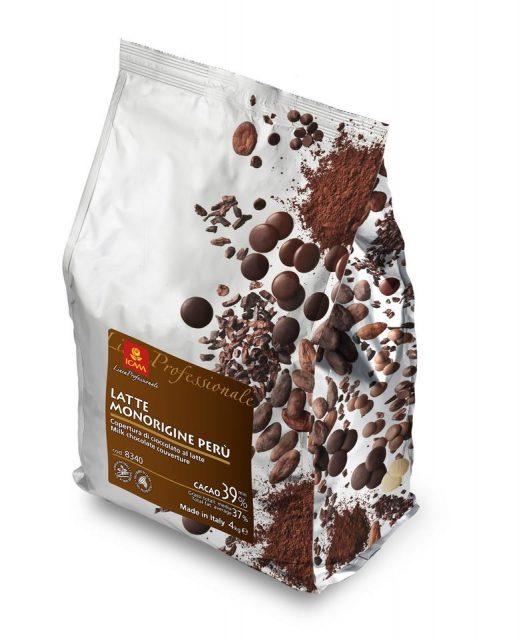 Σοκολάτα Γάλακτος Peru 39%