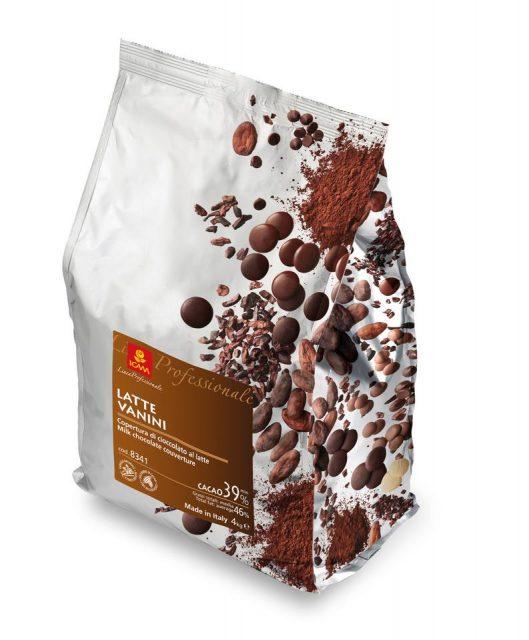 Σοκολάτα Γάλακτος Vanini 39%